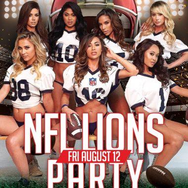 NFL Lions Party