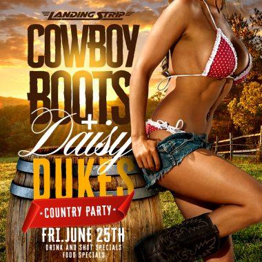 Country Boots & Daisy Dukes