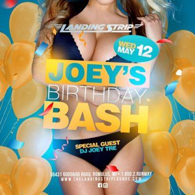 Joey's Birthday Bash